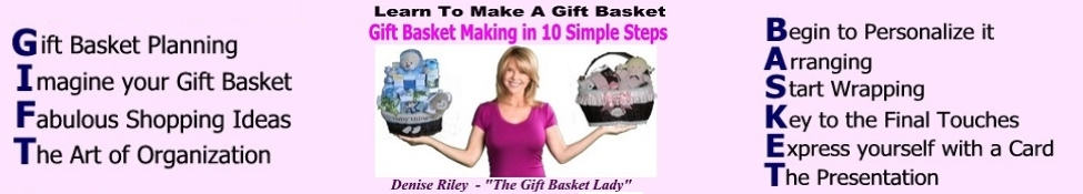 Learn to Make a Gift Basket
